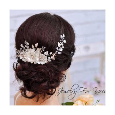 menyasszonyi tiara,esküvői ékszer,
