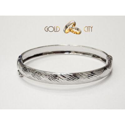 Fehér arany karperec az ékszer webáruházból-GoldCity-Ékszer-Webáruház