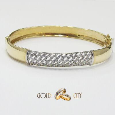Sárga arany köves karperec az ékszer webáruházból-GoldCity-Ékszer-Webáruház