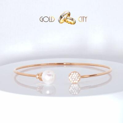 Rozé arany karperec az ékszer webáruházból-GoldCity-Ékszer-Webáruház