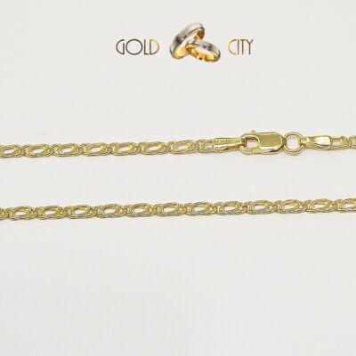 Mutatós sárga arany nyaklánc az ékszer webáruházból-goldcity.hu
