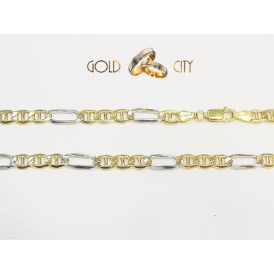 Sárga és fehér arany nyakék az ékszer webáruházból-GoldCity-Ékszer-Webáruház