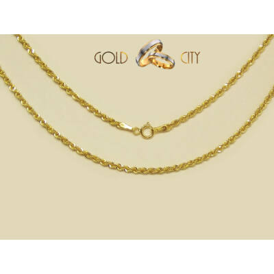 Sárga arany nyaklánc az ékszer webáruházból-GoldCity-Ékszer-Webáruház