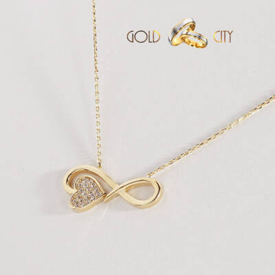 Sárga arany nyaklánc és medál az ékszer webáruházból-GoldCity-Ékszer-Webáruház