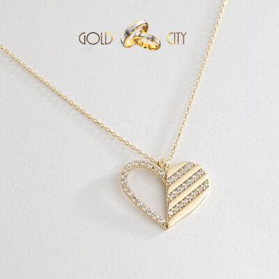 Sárga arany nyaklánc medállal az ékszer webáruházból-GoldCity-Ékszer-Webáruház