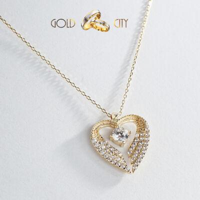 Sárga arany nyaklánc medál az ékszer webáruházból-GoldCity-Ékszer-Webáruház