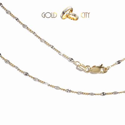 Sárga fehér arany nyaklánc az ékszer webáruházból-GoldCity-Ékszer-Webáruház