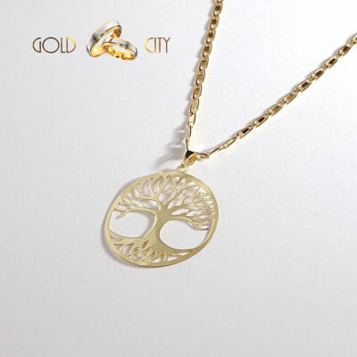 Sárga arany medál az ékszer webáruházból-GoldCity-Ékszer-Webáruház