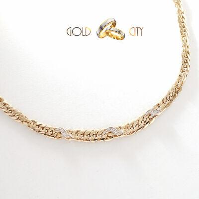 Sárga arany nyakék az ékszer webáruházból-GoldCity-Ékszer-Webáruház