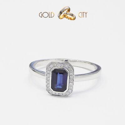 brill-köves-gyűrű,jegygyűrű,zafír,