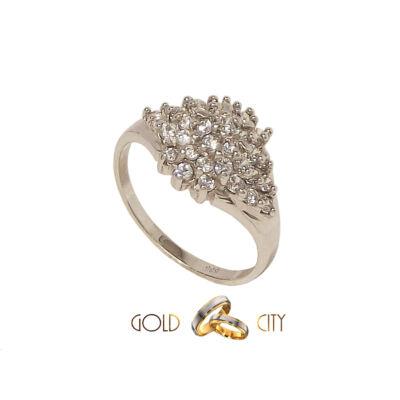GY-F-142-női arany gyűrű méret 58