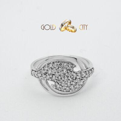 női-gyűrű-fehér-arany-köves-gyűrű