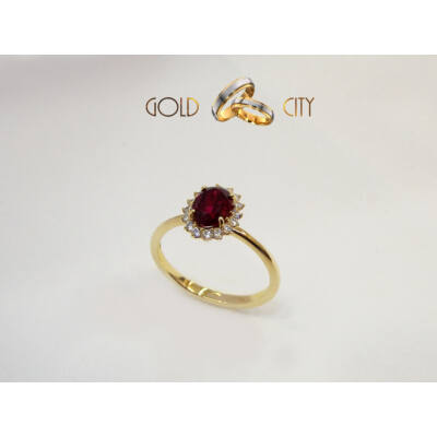 GY-S-1173 arany gyűrű