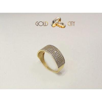 GY-S-1243 arany gyűrű