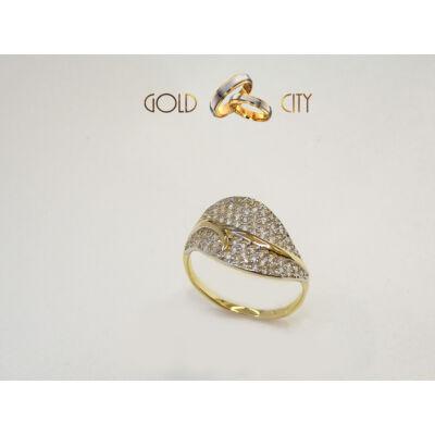 GY-S-155-női arany gyűrű
