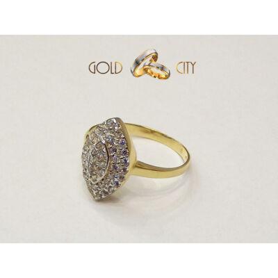 GY-S-162-női arany gyűrű