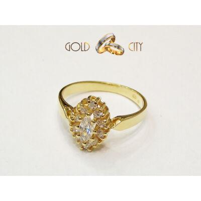 GY-S-304-női arany gyűrű
