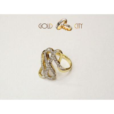 GY-S-376-női arany gyűrű
