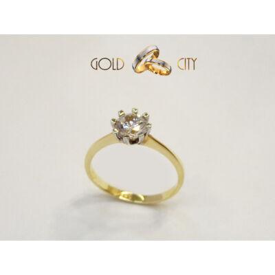 GY-S-572 arany gyűrű