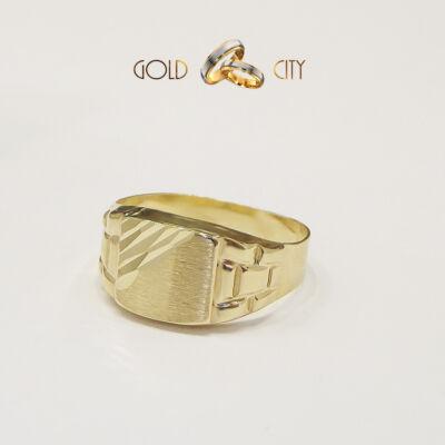 arany pecsétgyűrű,férfi gyűrű