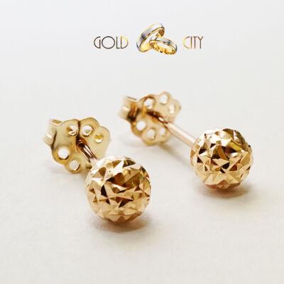 rozé arany fülbevaló-goldcity-ékszer-webáruház