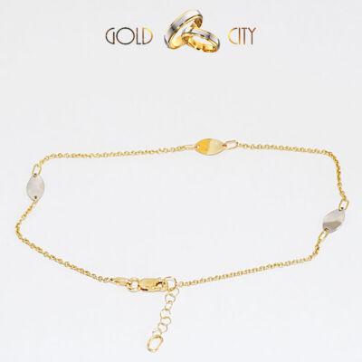 Sárga arany bokalánc az ékszer webáruházból-GoldCity-Ékszer-Webáruház