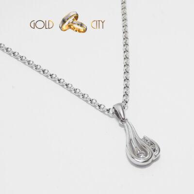 Fehér arany medál az ékszer webáruházból-GoldCity-Ékszer-Webáruház
