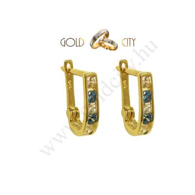 Arany gyermek fülbevaló, 14 karátos aranyból az ékszer webáruházból
