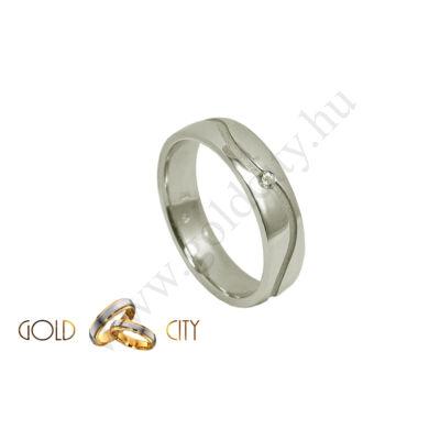 Karikagyűrű , jegygyűrű az ékszer webáruházból.