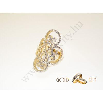 GY-S-1046 arany gyűrű méret 56