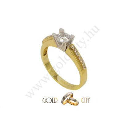 GY-S-859 arany gyűrű