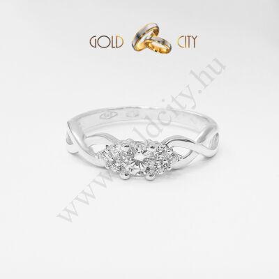 Karikagyűrű, jegygyűrű modern kivitelben az ékszer webáruházból