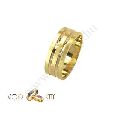 Arany karikagyűrű, jegygyűrű a Gold City Ékszer Webáruház kínálatából.