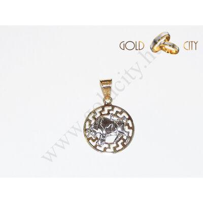 Arany horoszkóp medál az ékszer webáruházból-GoldCity-Ékszer-Webáruház